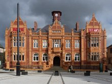 Merthyr Tydfil, The Old Town Hall, Glamorgan © Robin Drayton